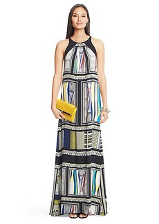 Jordan Printed Silk Maxi Dress