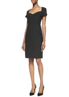 Katrina Cap-Sleeve Sheath Dress   Katrina Cap-Sleeve Sheath Dress