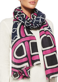 Kenley Love Knot Scarf, Pink   Kenley Love Knot Scarf, Pink