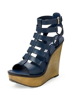Lexington Leather Wedge