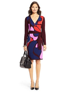 Linda Wool Wrap Dress
