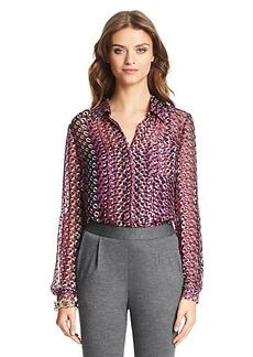 Lorelei Two Silk Blouse