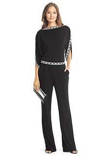 Lucy Embellished Chain Link Jumpsuit