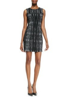 Mackenzie Sleeveless Body-Conscious Sheath Dress   Mackenzie Sleeveless Body-Conscious Sheath Dress