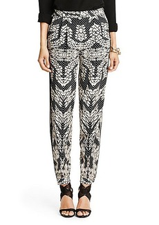 Madison Printed Silk Trouser