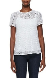 Melissa Scallop-Crochet Top   Melissa Scallop-Crochet Top