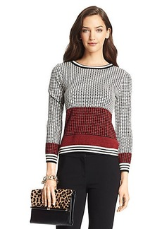 Microstitch Wool Sweater