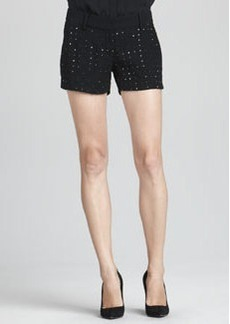 Naples Hot-Fix Crystal Shorts   Naples Hot-Fix Crystal Shorts