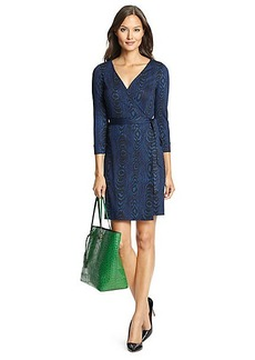 New Julian Two Mini Silk Jersey Wrap Dress