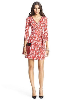 New Julian Two Mini Silk Jersey Wrap Dress
