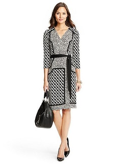 New Julian Two Pieced Silk Jersey Wrap Dress