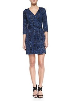 New Julian Two Wrap Minidress   New Julian Two Wrap Minidress