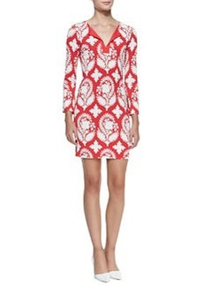 New Reina Two Printed Silk Dress   New Reina Two Printed Silk Dress
