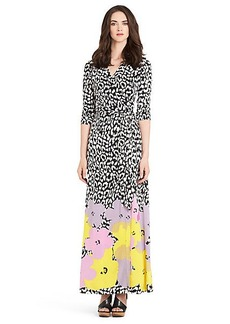 Pop Wrap Limited Edition Abigail Silk Jersey Wrap Dress