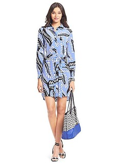 Prita Silk Shirt Dress