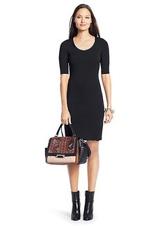 Raquel Scoop Neck Knit Bodycon Dress