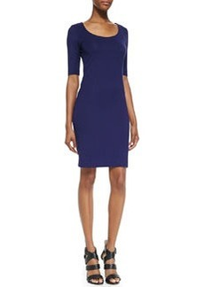 Raquel Scoop-Neck Sheath Dress   Raquel Scoop-Neck Sheath Dress
