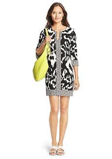 Rose Silk Jersey Tunic Dress