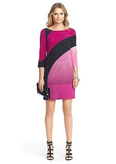 Sienna Printed Silk Sheath Dress