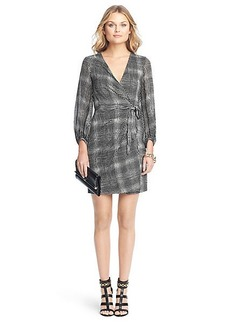 Sigourney Silk Jersey Wrap Dress