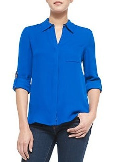 Solid Lorelei Two Blouse   Solid Lorelei Two Blouse