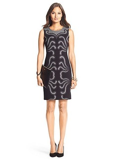 Stagewave Knit Sheath Dress