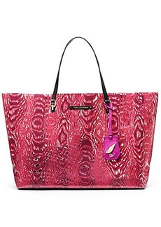 Sutra Large Ready To Go Moire PVC Tote