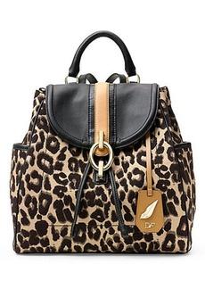 Sutra Leopard Jacquard Backpack