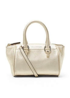 Sutra Metallic Leather Mini Duffle Bag