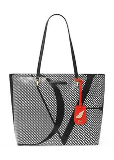 Sutra Ready To Go Chainlink Coated Canvas Tote