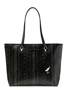 Sutra Ready To Go Printed Leather Tote