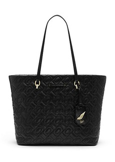 Sutra Ready To Go Quilted Chainlink Tote