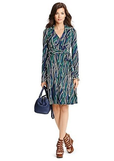 T72 Silk Jersey Wrap Dress