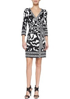 Tallulah Printed Silk Wrap Dress   Tallulah Printed Silk Wrap Dress