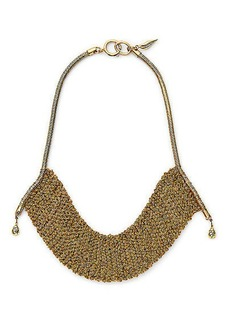 Thea Mesh Drape Necklace