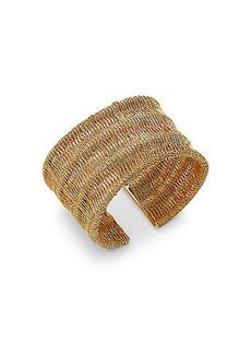 Thea Mesh Wide Cuff Bracelet