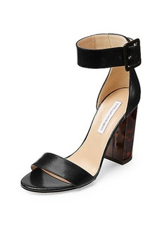 Ulrica Leather Heel