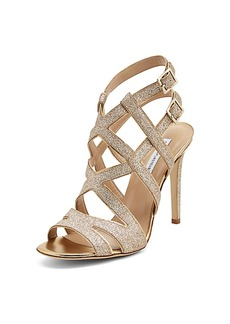 Valene Glitter Strappy Heel