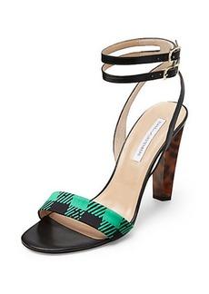 Vera Too Gingham Printed Heel