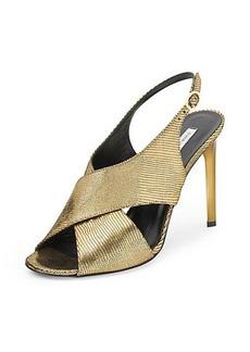 Vick Metallic Gold Heel Sandal