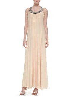 Willemma Beaded Halter-Neck Gown   Willemma Beaded Halter-Neck Gown