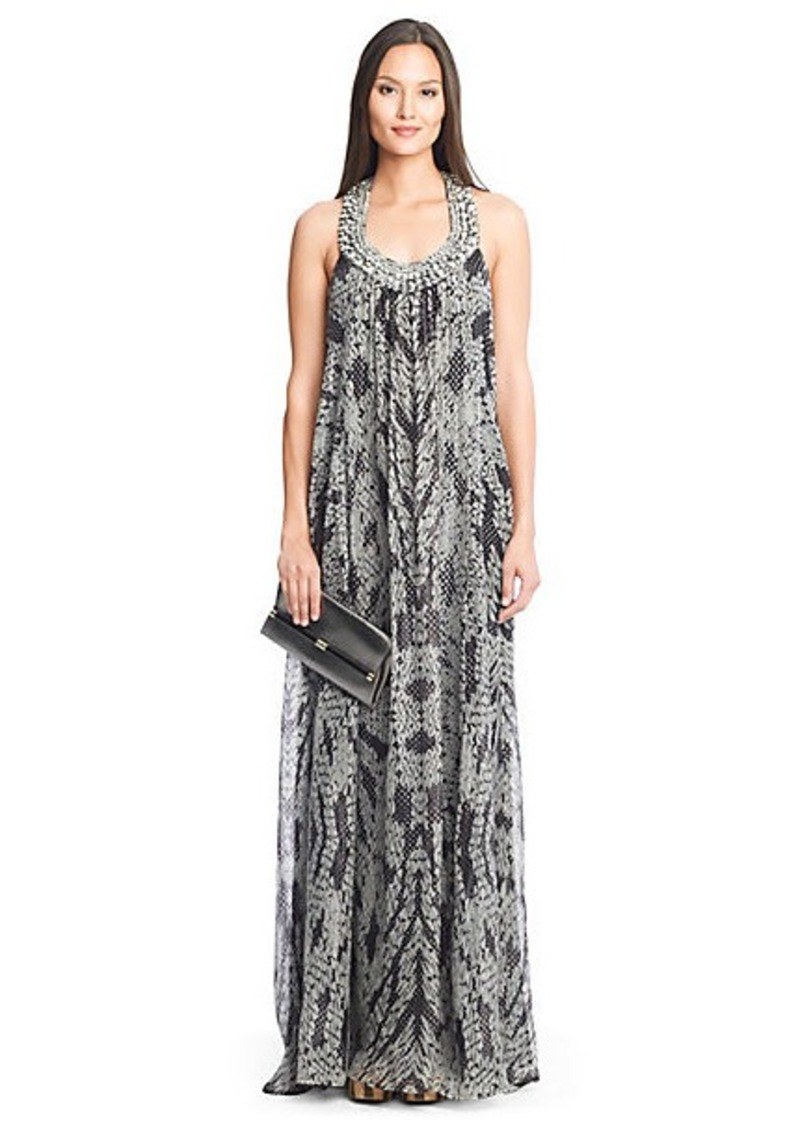 Willemma Embellished Chiffon Gown