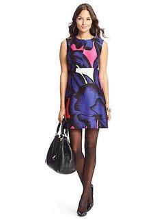 Yvette Printed A-Line Dress