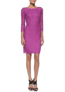 Zarita 3/4-Sleeve Lace Dress   Zarita 3/4-Sleeve Lace Dress