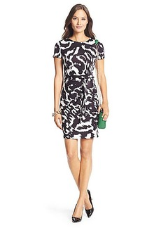 Zoe Short Sleeved Silk jersey Dress