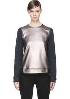 Diesel Black Gold Pewter & Grey Fierre Sweatshirt