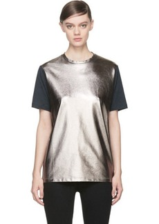 Diesel Black Gold Pewter & Grey Tamal T-Shirt