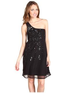 Diesel Cotton Mesh Sequin Dress