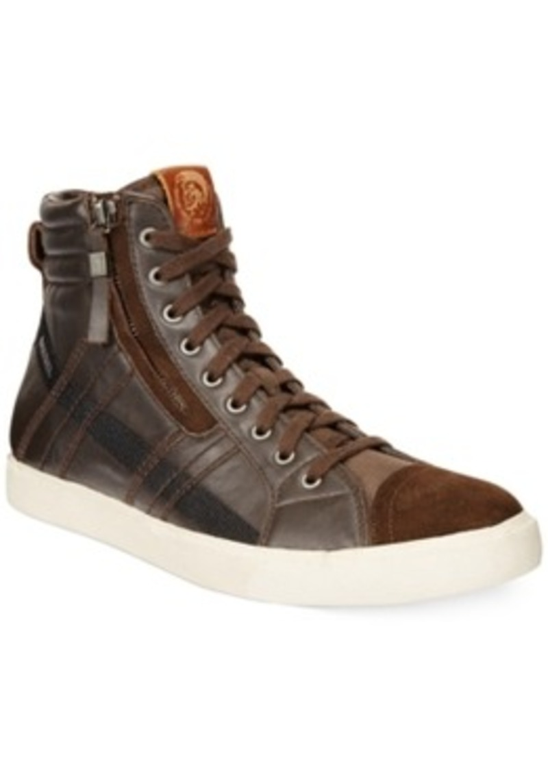 Diesel Diesel D-Velows D-String Hi-Top Sneakers Men's ...