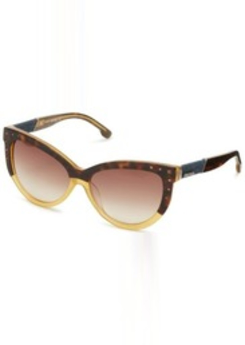 Diesel DL00515639N Cat-Eye Sunglasses